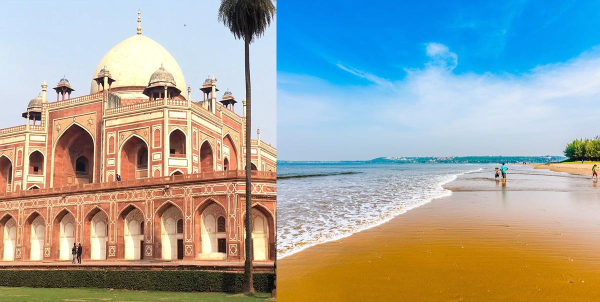 Golden Triangle with Goa Tour